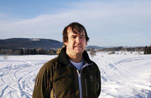 Dan Thornberg tror på idén med en turistväg efter ganmal riks 14 mellan Stöde och Borgsjö.