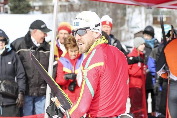 Bästa herre från Härjedalen, Svegsåkaren Patrik Bergman.