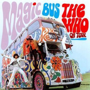 The Who lät en tidsenlig turnébuss symbolisera hippierörelsen på omslaget till