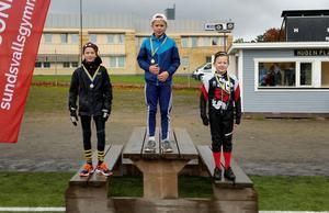 Topptrion i pojkar 4-6. Hugo Nordlander, Heliås Sidsjön, vann med tiden 10.57, tvåa blev Wilmer Rex, Engelska skolan, 12.37 och trea blev Mattias Larsson, Skönsmons skola, 13.52.