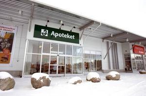 Det nyöppnade Apoteket Hermelinen bjuder som första apotek i Gävle på musik för sina kunder.