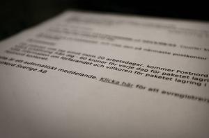 Efter bluffsamtalet skickades också ett falskt e-postmeddelande till Ingegerd där hon ombads klicka på en länk.