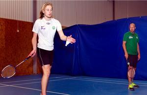 Jesper Hjelm (ny junior) och Mikael Olsson.