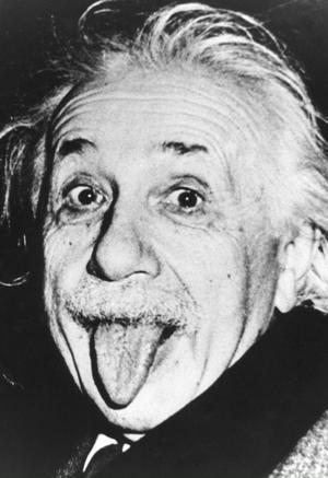 Albert Einstein, vetenskapsmannen som blivit något av symbol för IQ-rörelsen.