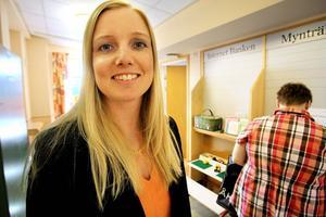 Johanna Åkerlund är ny chef för Swedbank i Bergsjö.