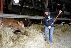 Jenny Gradin är en av bönderna som drabbas och upprörs av det försenade jordbrukarstödet.