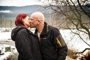 Kärleken mellan Åsa Ekbrink och Andreas Malmquist slog till redan vid första mötet.