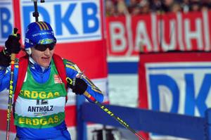Anna Carin Olofsson-Zidek kvan vara Sveriges starkaste medaljhopp när skidskytte-VM i Sydskorea startar med sprintdistanser på lördag.  Foto: Hans-Råger Bergström