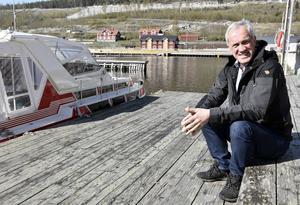 Peter Holmqvist är vd i utvecklingsbolaget och konstaterar att Höga Kusten är betydligt mer uppmärksammat nationellt i dag.