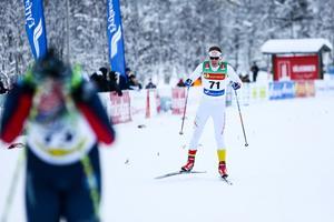 Johannes Andersson, Ski Team Skåne, fick inte den säsongsstart han hoppats på. Hjärtproblemen satte stopp.