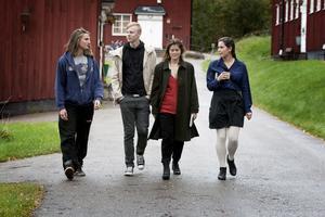 Eleverna Fredrik Wedholm, Mattias Viktorsson, Evelina Hägglund och Beata Sjöstedt tror inte att den omtalade