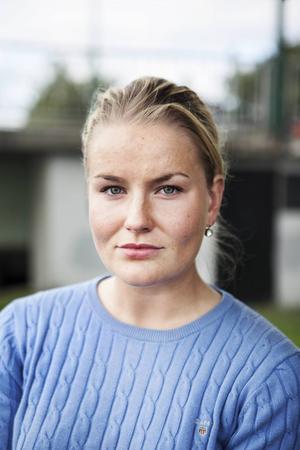 Ida Skogström (M) länsordförande för MUF och kommunstyrelseledamot.