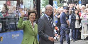 Snart i Västerås. Kung Carl XVI Gustaf och drottning Silvia kommer till Västmanland.