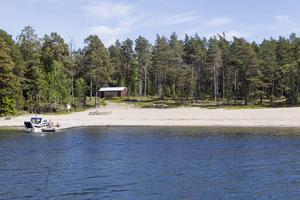 Storjungfrun i Söderhamns skärgård. Arkivbild.