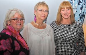Från vänster: Carina Ohlsson, Mi Bringsaas och Marie Nordén.