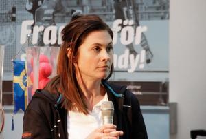 Frida Erlandsson är tillbaka efter ett års uppehåll.