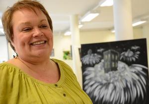 Explosivt. Även om Ingela Bornström bestämmer sig för att skapa något finstämt säger hon att det oftast slutar i något explosivartat.