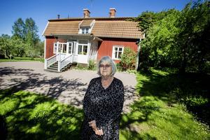 Barbro Lindgren har besökt Astrid Lindgrens barndomshem förut, i sällskap med Astrid själv: