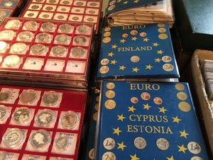 Euromynt finns idag 400 versioner - på ena sidan myntet den gemensamma eurobilden, på andra sidan den nationella.