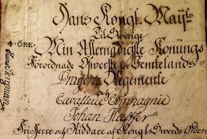 Johan Hastfer hade många fina titlar, men det hjälpte honom föga när saker drogs till sin spets.
