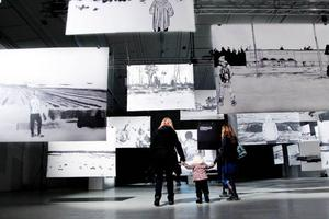 Clara Bodén står bakom filmen och utställningen som visas på Exercishallen norr till och med måndag.