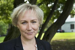 Helene Hellmark Knutsson, minister för högre utbildning och forskning besökte Gumaeliusskolan under onsdagen. Hon fick veta mer om lärarnas verksamhetsförlagda utbildning. Bilden är tagen vid ett annat tillfälle.