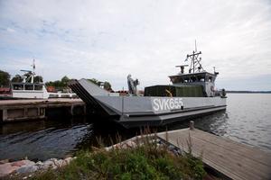 Roslagens Sjövärnskår deltar i övningen.