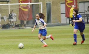 Cupen är en av landets största inomhuscuper för flickor och damer.