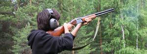 Siktet var inställt på luftgeväret för Adam Azlan, 15 år, Ramsjö.