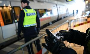 Hösten 2015 infördes gräns- och id-kontroller i Skåne. Foto: Johan Nilsson/TT