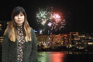STOCKHOLM 2008-12-31Nyårsfyrverkeri i Hammarby sjöstadFoto Hasse Holmberg / SCANPIX Kod 96