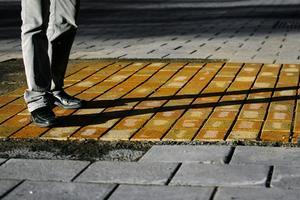 De gula stenarna provades. 15 oktober 2007.