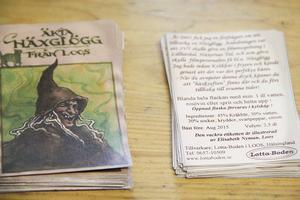 Etiketterna till häxglöggen har lokala illustratören Elisabeth Nyman skapat.