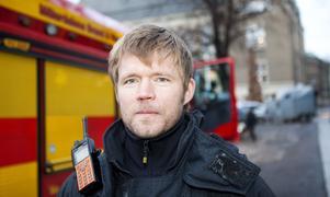 Björn Svensson, avdelningschef för räddningstjänst i beredskap, RiB, det vill säga deltidskårerna.