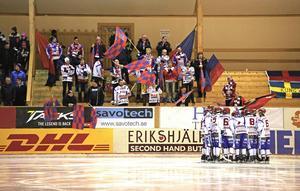 Supporterföreningen Skarpa Gubbar startade en insamling för att hjälpa sitt lag kvar i elitserien.