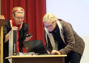 Staffan gymnasiet är redan bäst i Sverige på ungt företagande. Men det gäller att ligga i menade Anna Liljestrand, lärare och Caroline Sundberg, Ungt Företagande i Gävleborg.