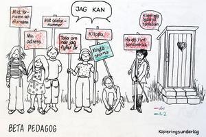 Kunskapsmål i individuell utvecklingsplan på Essviks skola.
