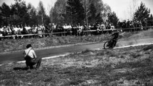 Speedway i Hallstavik 1955.