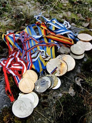 Det har blivit några medaljer tidigare.
