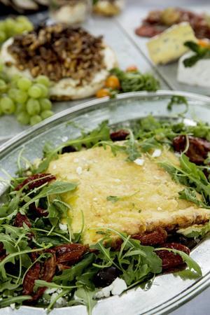 Vegetarisk lasagne.