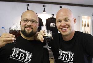 Jonas Östberg och Richard Hansson från Bröderna Bommens Bryggeri kommer att vara på ölmässan.