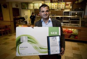 Rasoul Zarar Ibrahim prisades för sin företagssamhet.