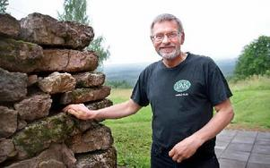 – Det centrala är tillgängligheten, säger Kåre Olsson, Skattungbyn, som anser att resurserna till landsbygdsstödet satsas fel i dag. Foto: Jennie-Lie Kjörnsberg