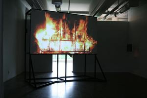 "extremt. Petr Davydtchenko, ""Exploring The Fire"" på Gävle konstcentrum."