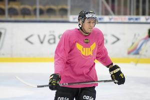 Markus Persson, VIK Hockey, kan eventuellt göra comeback i kvalserien.