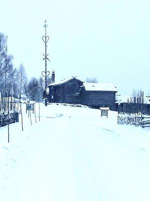 ... och så blev det vinter igen i Tällberg.