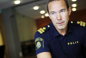 Patrik Filén är planeringssamordnare för polisens insatser under Storsjöyran.  – Jag tror att de flesta ser positivt på vår närvaro under Yran, säger han.