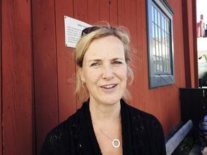 Kraftig minskning. 40 procent av grisproduktionen ahr försvunnit sedan gick gick med i EU, säger Annika Bergman, som driver ett jordbruksföretag i Närkes Kil.Foto: Lars Ströman