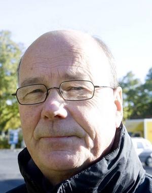 Leif Liljeberg, gatuingenjör på tekniska kontoret.