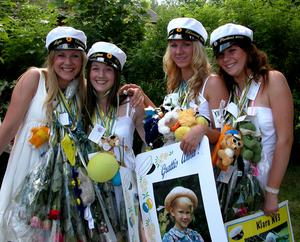 Från vänster: Maja Dahlström, Mirjam Linzie, Anne Otterud, Klara Berglund.